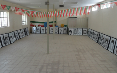 مراحل آماده سازی موزه شهدای منطقه قهاوند