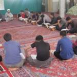 حضور-حجت-الاسلام-کرملو-در-جمع-معتکفین-شهر-قهاوند