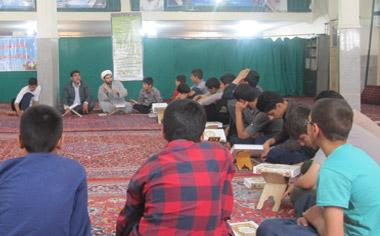 گزارش تصویری از اعتکاف ۹۴ منطقه قهاوند