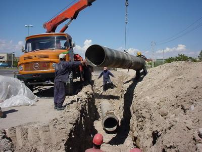 بهره برداری از سه پروژه آبرسانی و کشاورزی در منطقه قهاوند