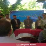 نشست صمیمی فرماندار همدان با خبرنگاران (1)