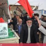 استقبال از شهدای گمنام روستای عبدالرحیم قهاوند (2)