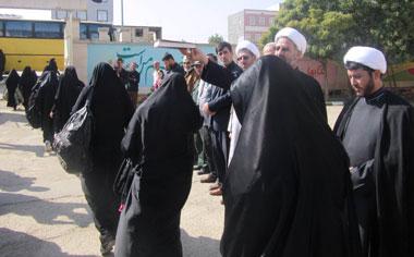 اعزام ۸۰ نفر از دانش آموزان منطقه قهاوند به اردوی راهیان نور مناطق عملیاتی غرب کشور