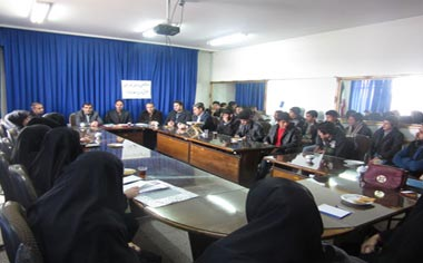 برگزاری جلسه رؤسای شوراهای دانش آموزی مدارس منطقه قهاوند