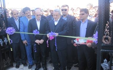 ساختمان جدید شهرداری شهر قهاوند با حضور استاندار همدان افتتاح شد