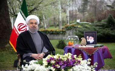 پیام نوروزی رییسجمهور به مناسبت آغاز سال ۱۳۹۵