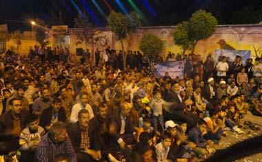 مراسم جشن میلاد حضرت مهدی (عج) در شهر قهاوند برگزار شد