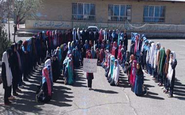 درخشش دانش آموزان منطقه قهاوند در مسابقات نقاشی و سرود همگانی