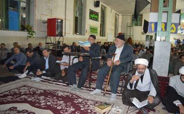 مراسم احیای شب نوزدهم ماه مبارک رمضان در شهر قهاوند برگزار شد