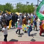 راهپیمایی روز قدس در قهاوند (1)