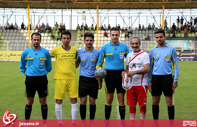 بازی هنرمندان همدان و هنرمندان ایران (1)