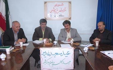 شورای آموزش و پرورش منطقه قهاوند تشکیل جلسه داد / جذب اعتبار جهت احداث استخر سرپوشیده در قهاوند