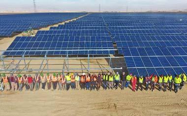 افتتاح بزرگترین نیروگاه انرژی خورشیدی کشور در منطقه قهاوند