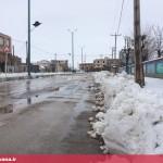بارش سنگین برف در قهاوند (5)