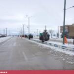 بارش سنگین برف در قهاوند (7)