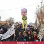 راهپیمایی یوم الله 22 بهمن در قهاوند (2)