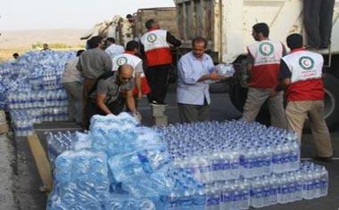 ۴ پایگاه در منطقه قهاوند به منظور جمعآوری کمکهای مردمی برای زلزله زدگان برپا شده است