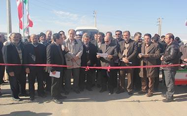 طرح بهسازی در روستای خیرآباد و عبدالرحیم افتتاح شد