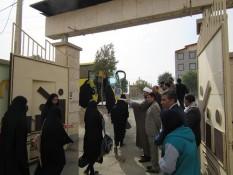 اعزام ۴۴ دانش آموز دختر قهاوندی به اردو راهیان نور غرب کشور