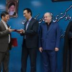 آیین تکریم ومعارفه رئیس دادگستری شهرستان کامیاران برگزار شد (7)