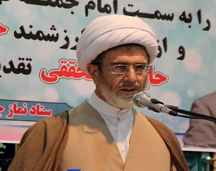 حجت الاسلام علی امیدی امام جمعه منطقه قهاوند شد